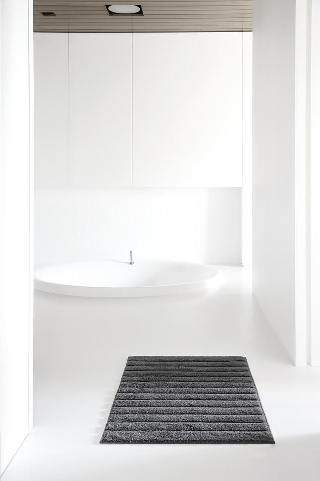 Image pour Casilin tapis de bain Nevada anthracite à partir de ColliShop