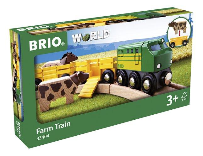 Image pour BRIO World 33404 Train des animaux de la ferme à partir de ColliShop