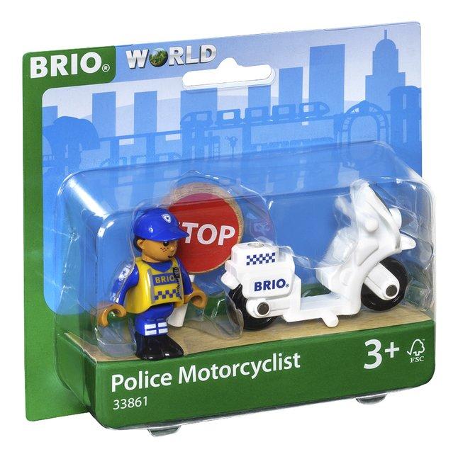 Image pour BRIO World 33861 Moto de police à partir de ColliShop