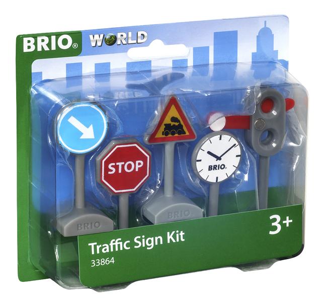 BRIO World 33864 Panneaux de signalisation