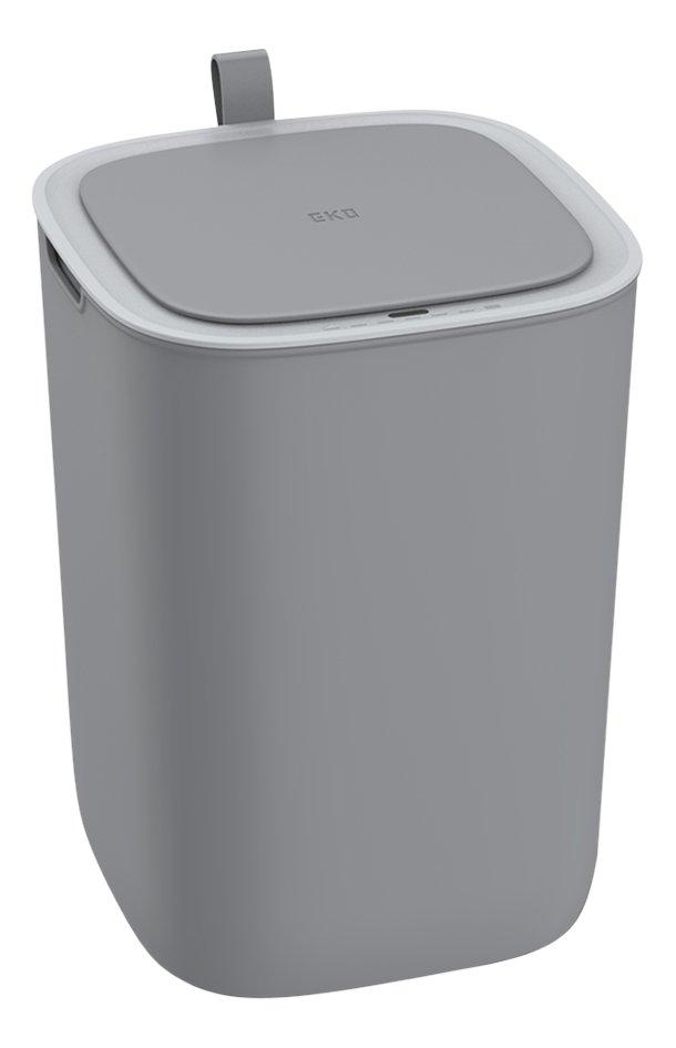 Eko Afvalemmer Morandi sensor grijs 12 l