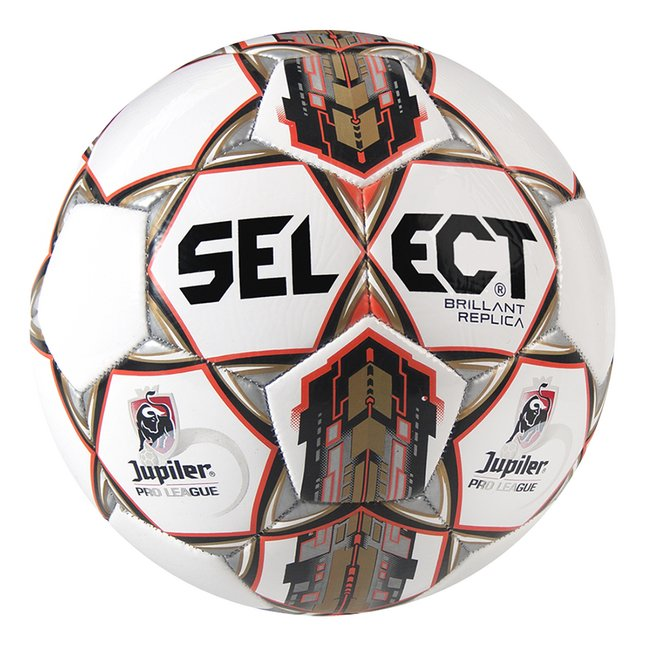 Afbeelding van Select voetbal Brillant replica Jupiler Pro League maat 5 from ColliShop