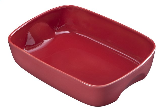 Afbeelding van Pyrex Ovenschaal Curves red brick from ColliShop