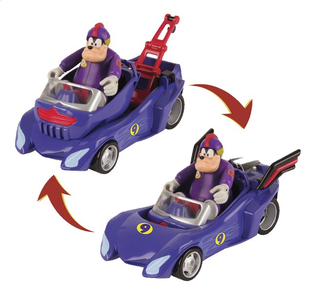 The Roadster Avec And Disney Mickey Racers Bolide Pat Figurine Transformable wvmN80n