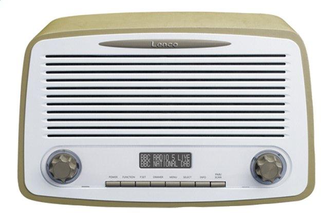 Image pour Lenco radio DAB+ Rétro DAR-012 Taupe à partir de ColliShop