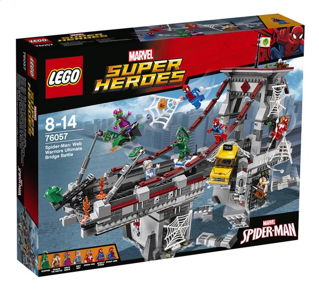 Afbeelding van LEGO Super Heroes 76057 Spider-Man: Web Warriors ultiem brugduel from ColliShop