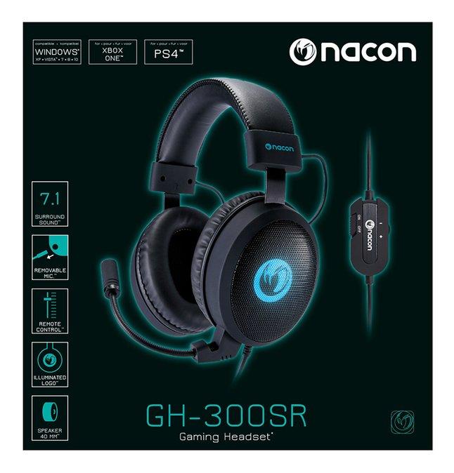 Image pour Nacon casque-micro GH-300SR à partir de ColliShop
