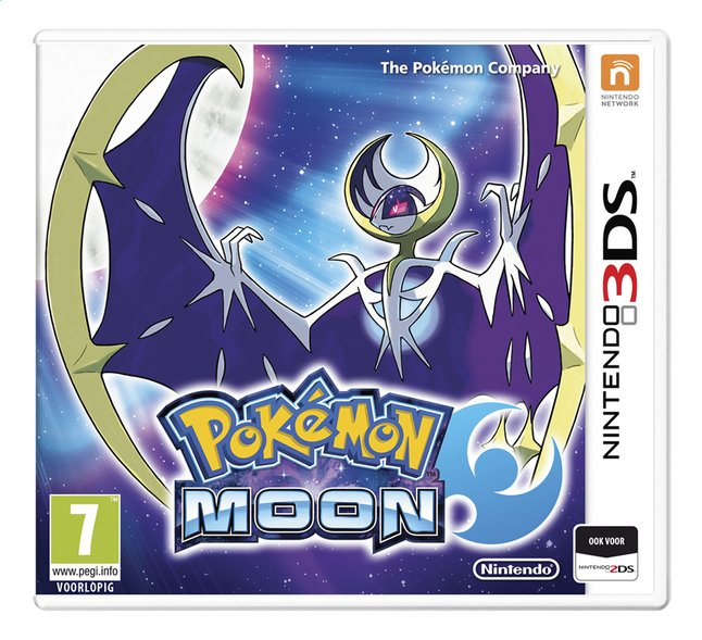 Afbeelding van Nintendo 3DS Pokémon Moon NL from ColliShop