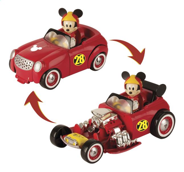 Afbeelding van Transformeerbaar voertuig met figuur Disney Mickey and the Roadster Racers Mickey from ColliShop
