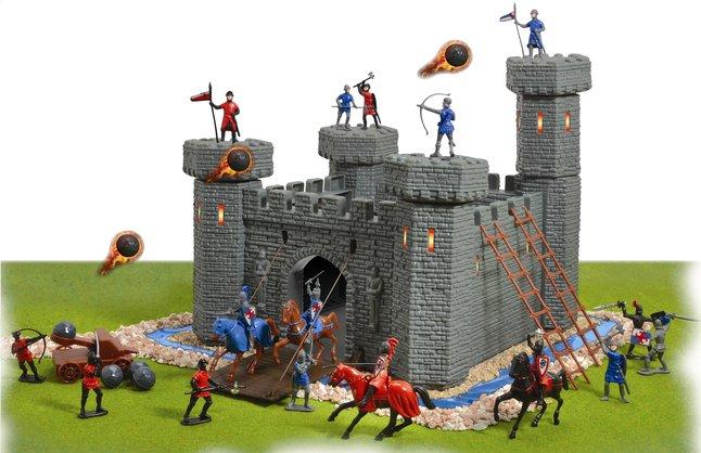 Afbeelding van Speelset kasteel from ColliShop