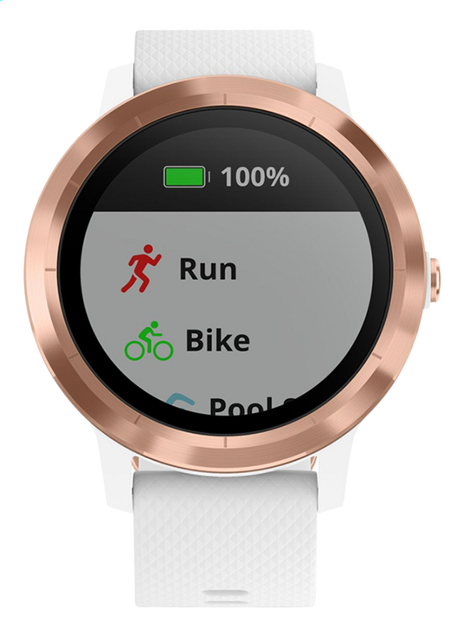 Garmin smartwatch Vivoactive 3 wit
