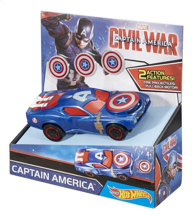 Image pour Hot Wheels voiture Captain America Civil War Captain America à partir de ColliShop