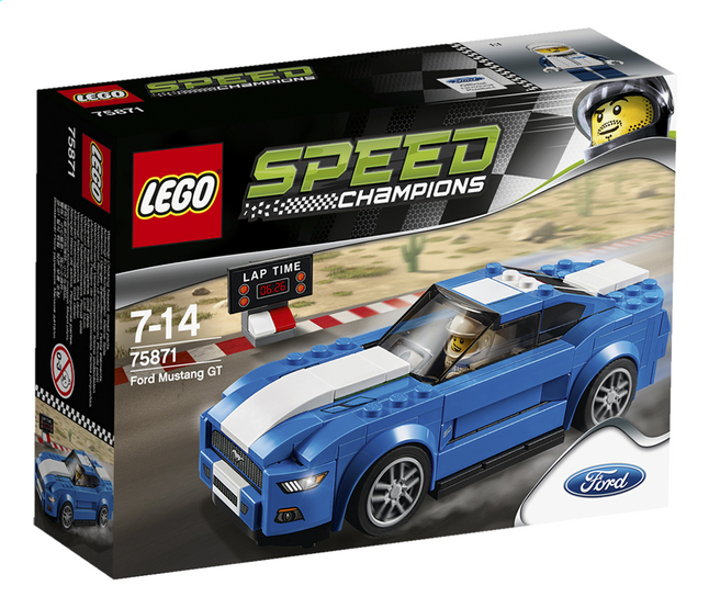 Afbeelding van LEGO Speed Champions 75871 Ford Mustang GT from ColliShop