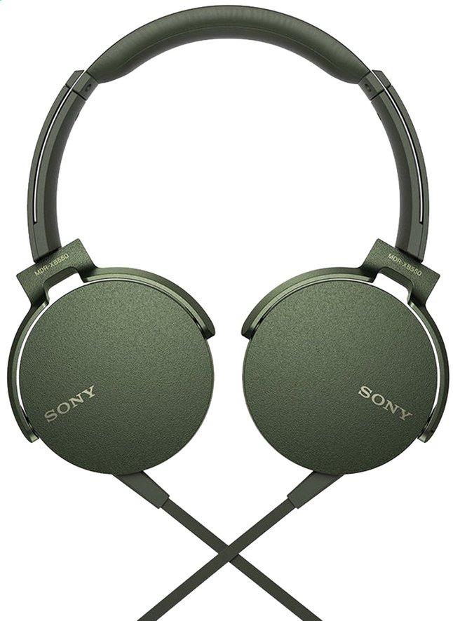 Image pour Sony casque MDR-XB550AP vert à partir de ColliShop