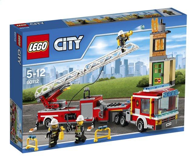 Image pour LEGO City 60112 Le grand camion de pompiers à partir de ColliShop