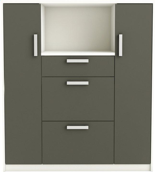 demeyere meubles armoire de cuisine gris collishop. Black Bedroom Furniture Sets. Home Design Ideas