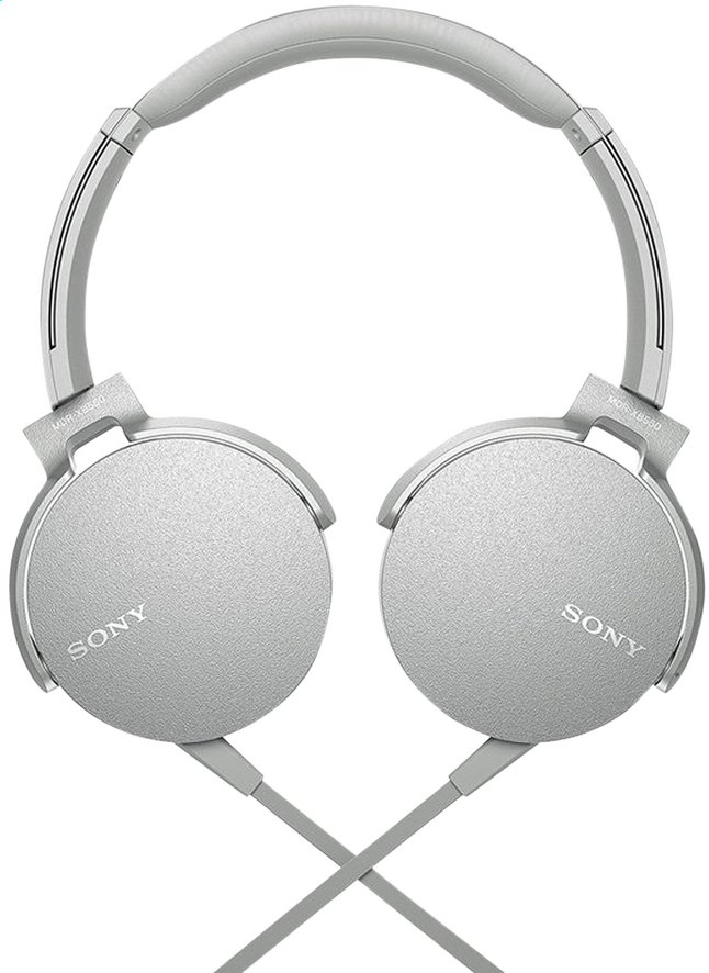 Afbeelding van Sony hoofdtelefoon MDR-XB550AP wit/grijs from ColliShop