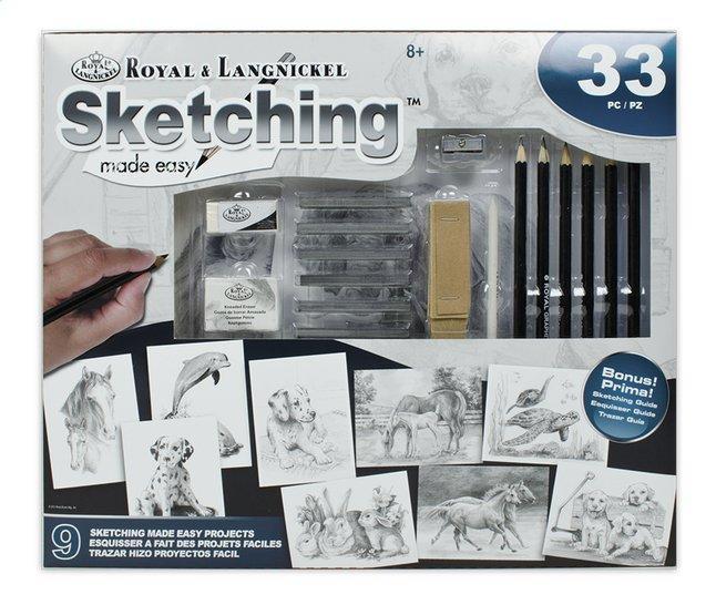 Image pour Royal & Langnickel coffret à dessin Esquisser Projets faciles à partir de ColliShop
