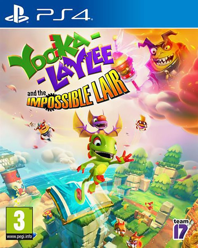 PS4 Yooka-Laylee & The Impossible Lair FR/ANG