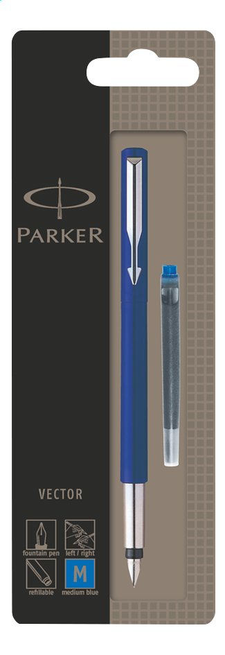 Parker vulpen Vector blauw