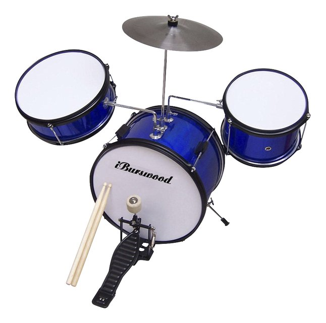 Afbeelding van Metalen kinderdrumstel from ColliShop