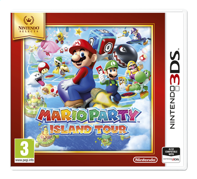 Afbeelding van Nintendo 3DS Mario Party: Island Tour Select NL from ColliShop