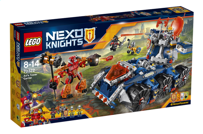 Afbeelding van LEGO Nexo Knights 70322 Axl's torentransport from ColliShop