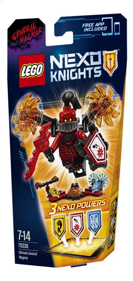 Image pour LEGO Nexo Knights 70338 L'Ultime Général Magmar à partir de ColliShop