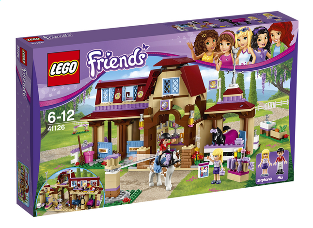 Image pour LEGO Friends 41126 Le club d'équitation de Heartlake City à partir de ColliShop
