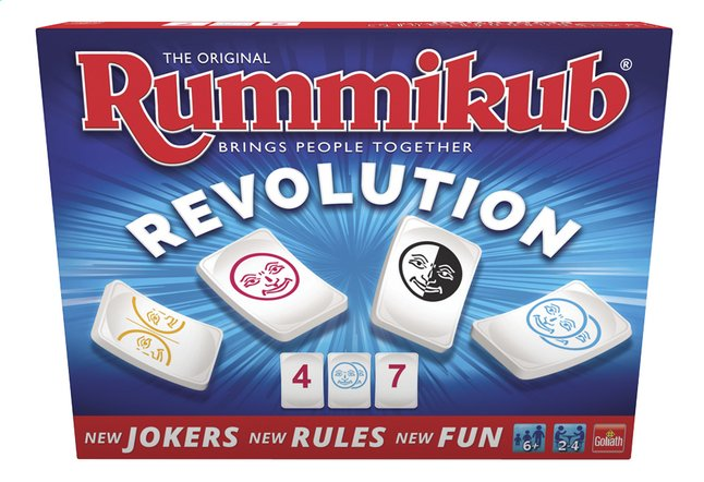 Afbeelding van Rummikub Revolution from ColliShop