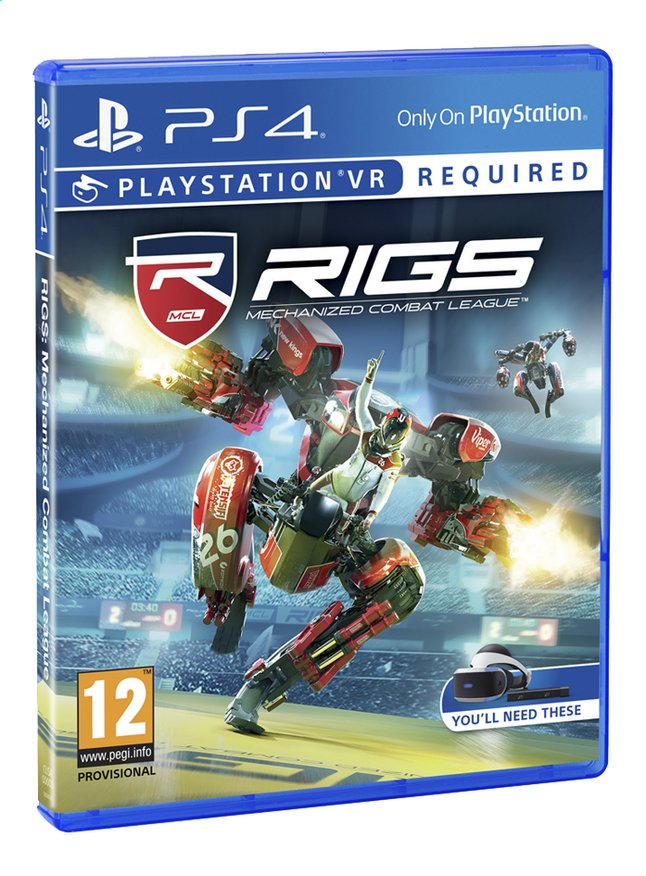 Afbeelding van PS4 VR Rigs Mechanized Combat League ENG/FR from ColliShop