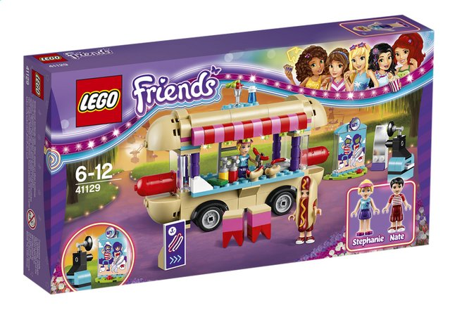 Afbeelding van LEGO Friends 41129 Pretpark hotdogwagen from ColliShop