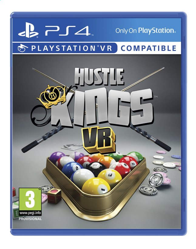 Afbeelding van Hustle Kings VR PS4 FR/ENG from ColliShop