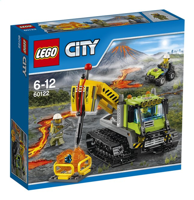 Afbeelding van LEGO City 60122 Vulkaan Crawler from ColliShop