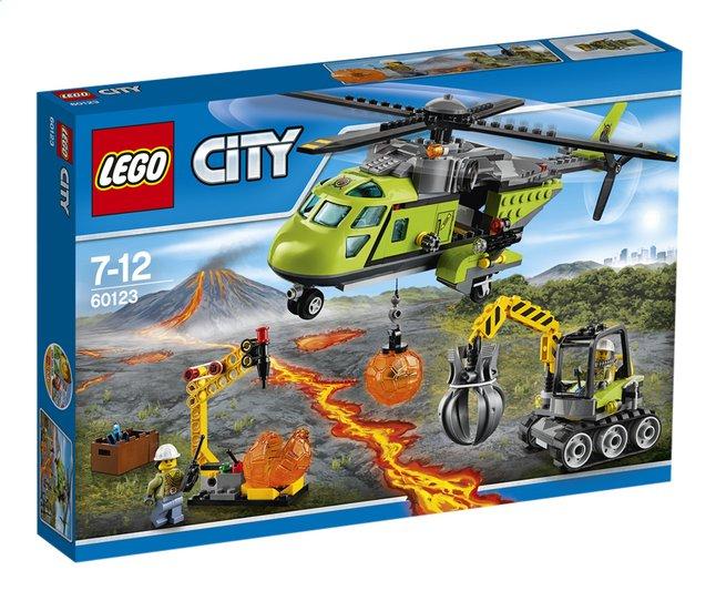 Image pour LEGO City 60123 L'hélicoptère d'approvisionnement du volcan à partir de ColliShop