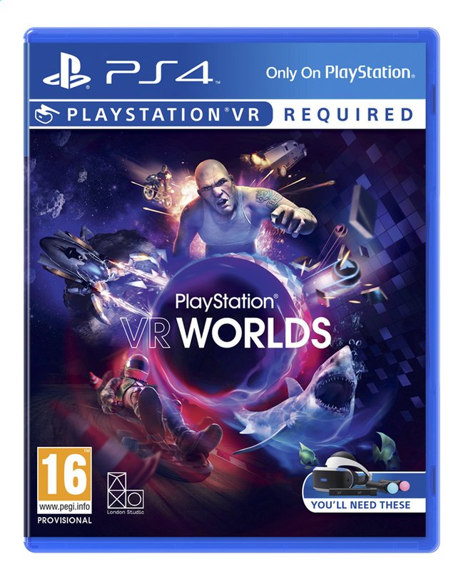 Image pour PS4 VR Worlds FR/ANG à partir de ColliShop