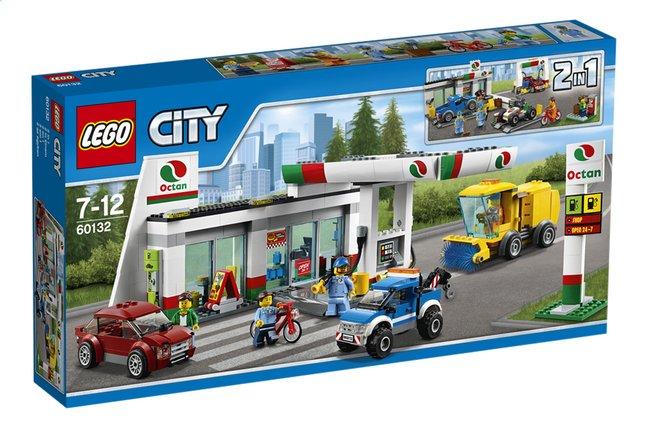Afbeelding van LEGO City 60132 Benzinestation from ColliShop