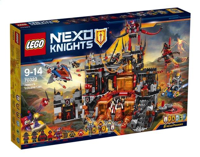 Image pour LEGO Nexo Knights 70323 Le repaire volcanique de Jestro à partir de ColliShop