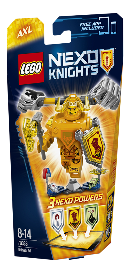 Image pour LEGO Nexo Knights 70336 Axl, l'Ultime chevalier à partir de ColliShop