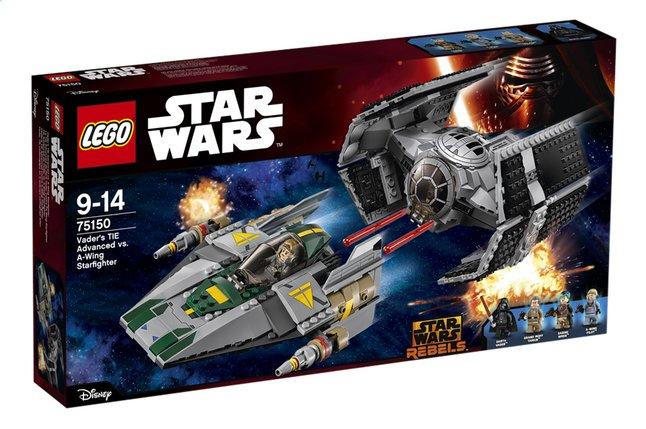 Image pour LEGO Star Wars 75150 Le TIE Advanced de Dark Vador contre l'A-Wing Starfighter à partir de ColliShop