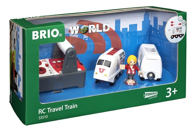 Image pour BRIO World 33510 Train de voyageur RC à partir de ColliShop