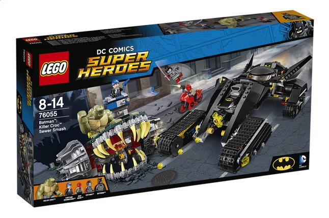 Afbeelding van LEGO Super Heroes 76055 Batman: Killer Croc rioolravage from ColliShop