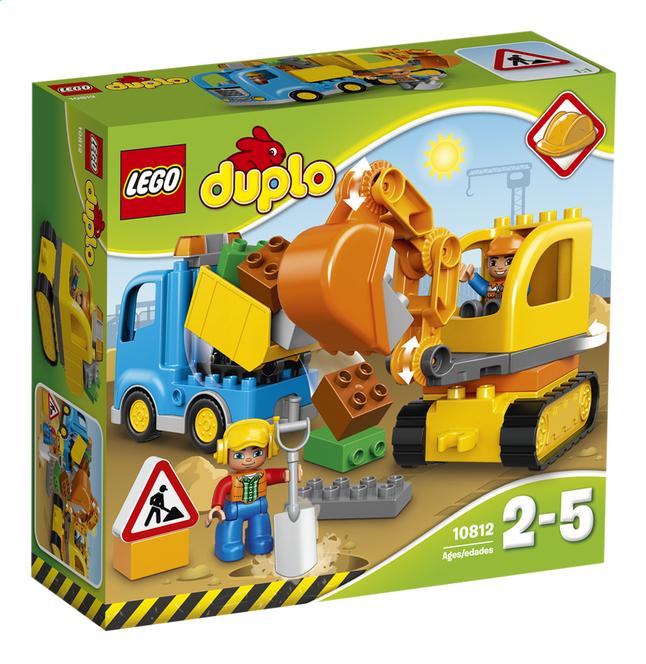 Image pour LEGO DUPLO 10812 Le camion et la pelleteuse à partir de ColliShop