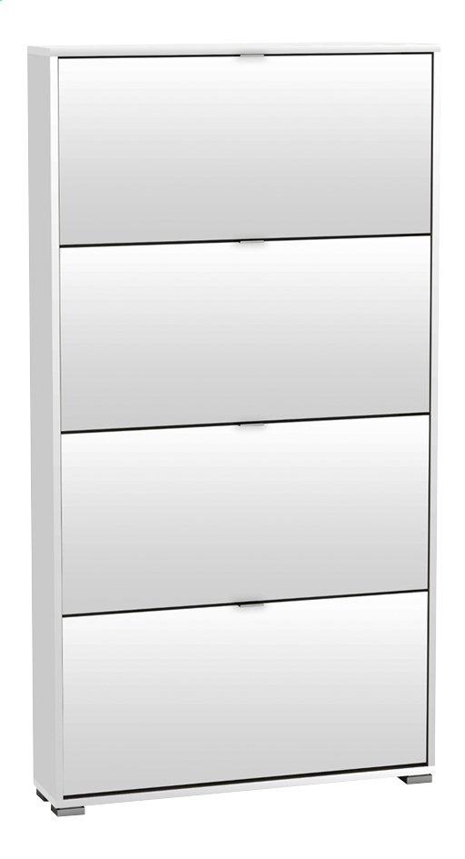 demeyere meubles armoire chaussures 4 portes perfect d cor blanc 12 paires de chaussures. Black Bedroom Furniture Sets. Home Design Ideas