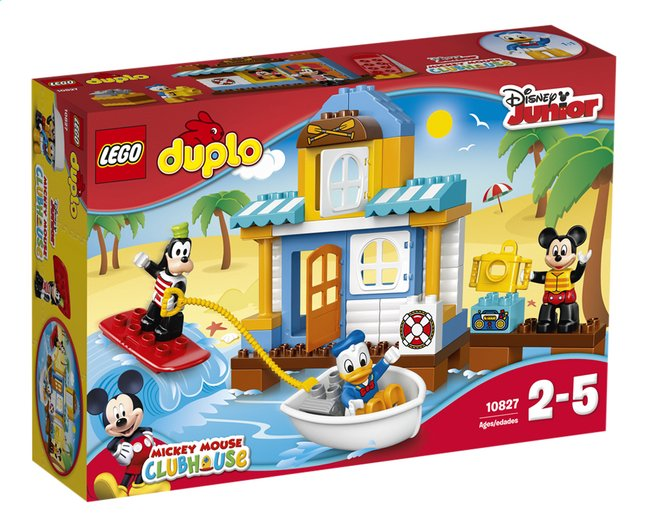 Afbeelding van LEGO DUPLO 10827 Mickey & Friends strandhuis from ColliShop