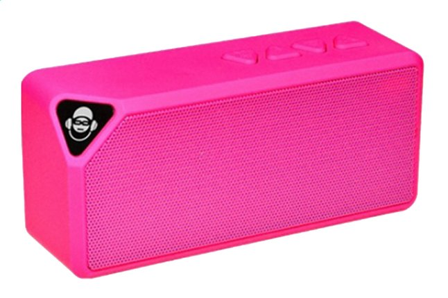 Afbeelding van iDance Luidspreker bluetooth Mini Blaster BM-1 roze from ColliShop