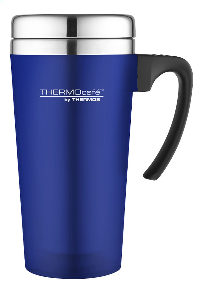 Afbeelding van Thermocafé by Thermos Reisbeker Soft Touch blauw 42 cl from ColliShop