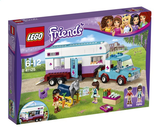 Afbeelding van LEGO Friends 41125 Paardendokter trailer from ColliShop