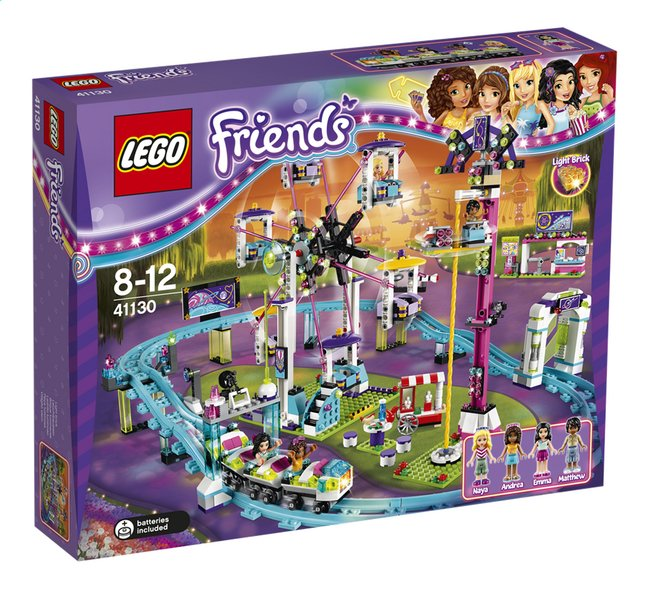 Image pour LEGO Friends 41130 Les montagnes russes du parc d'attractions à partir de ColliShop