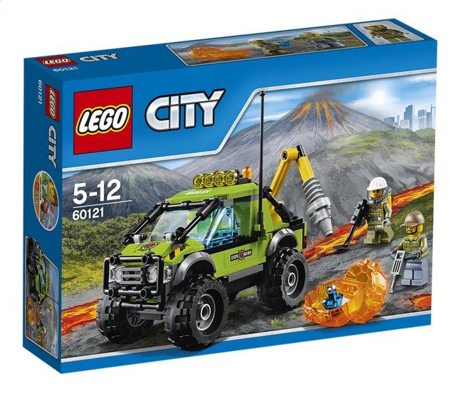 Afbeelding van LEGO City 60121 Vulkaan onderzoekstruck from ColliShop